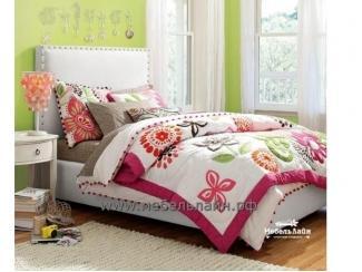 Кровать в детскую комнату девочки Челси - Мебельная фабрика «МебельЛайн»