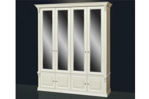 Шкаф светлый с 4-мя зеркалами Б13.2 - Мебельная фабрика «Благо»