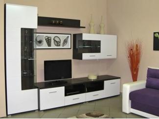 Черно-белая гостиная Вентура  - Мебельная фабрика «Интерьер»