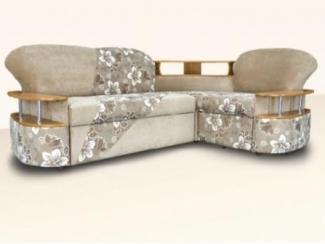 Современный угловой дива с полочками Визит М - Мебельная фабрика «Димир»