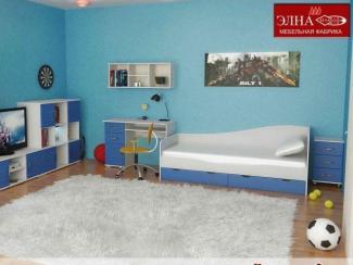 Детская Индиго вариант 3 - Мебельная фабрика «Элна»
