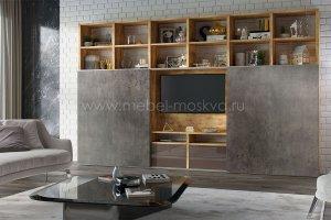Стеллаж в гостиную Solo 8 - Мебельная фабрика «Мебель-Москва» г. Поварово