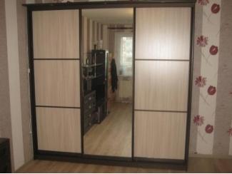 Раздвижной шкаф-купе с зеркалом - Мебельная фабрика «Прага Мебель»