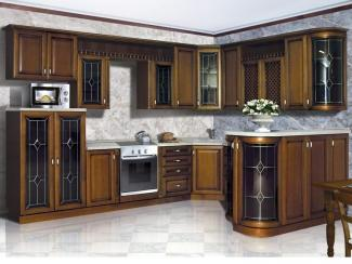 Кухонный гарнитур угловой Пальмира - Мебельная фабрика «Прометей»