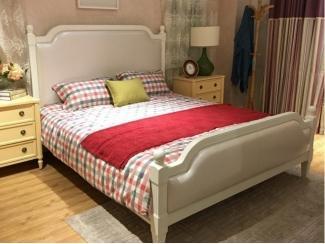 Белая кровать Прованс  - Импортёр мебели «CОMMODA (Китай, Таиланд)», г. Москва