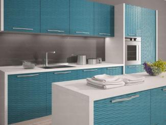 Кухня с ЗD фасадами - Изготовление мебели на заказ «КИТ»