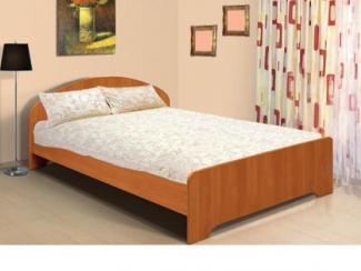 Кровать двуспальная с низкой ножной спинкой - Мебельная фабрика «Версаль»