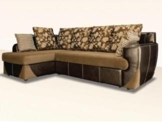 Красивый угловой диван с подушками Люксор  - Мебельная фабрика «Димир»