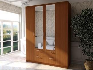 Шкаф 4 створки с ящиками  - Мебельная фабрика «Ваша мебель»