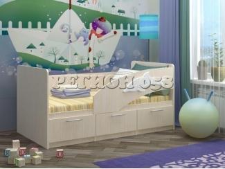 Детская кровать Дельфин 5 - Мебельная фабрика «Регион 058», г. Пенза
