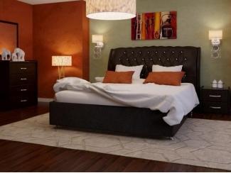 Кровать Афина 2 экокожа - Мебельная фабрика «ARISTA»