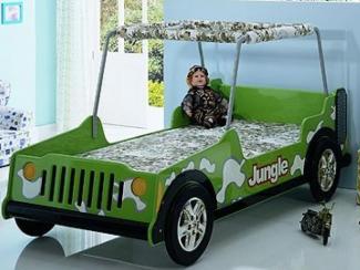 Кровать детская Willi Jeep - Мебельная фабрика «Мебель-комфорт»