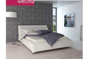 Кровать Феста с обтекаемыми формами - Мебельная фабрика «Бландо»