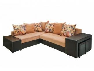 Угловой диван с подушками Фрегат 3