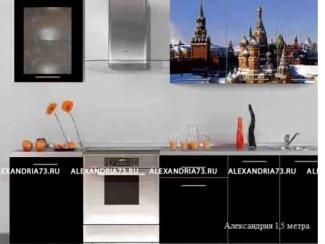 Кухня Александрия фотопечать - Мебельная фабрика «Александрия»