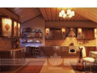 Кухня Таруса массив - Мебельная фабрика «Абико»