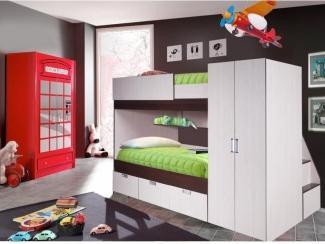Кровать двухъярусная Бамбино 2 - Мебельная фабрика «КМК»