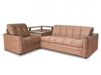 Угловой диван со столом Адриатика 2 - Мебельная фабрика «Северная Двина»