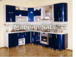 Угловая Синяя кухня - Мебельная фабрика «Мебель СаЛе»