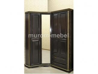 Шкаф угловой Грета из березы - Мебельная фабрика «Муром-мебель»