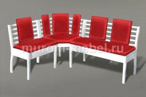 Уголок Грация без подлокотников - Мебельная фабрика «Муром-мебель»