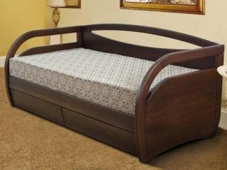 Кровать Скай массив бука - Мебельная фабрика «Диамант-М»