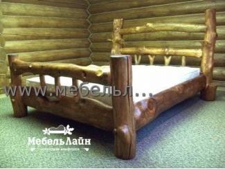 Кровать из дерева  - Мебельная фабрика «МебельЛайн»