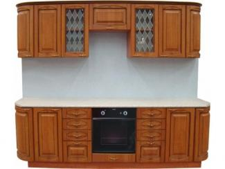 Кухня прямая Патина ольха - Мебельная фабрика «Техсервис»