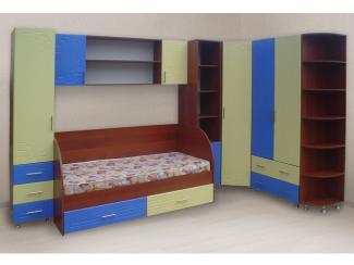 """Набор корпусной мебели для детской комнаты """"Радуга"""""""