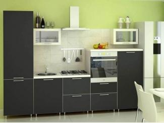 Кухонный гарнитур ЛДСП черный - Мебельная фабрика «ЮММА»