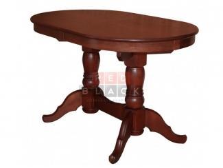 Стол Презент  Махагон/массив березы, Шпон  - Импортёр мебели «RedBlack»