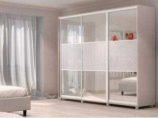 Белый шкаф Купе-5 - Мебельная фабрика «Алмаз-мебель», г. Кузнецк