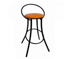 Стул барный с окрашенным металлокаркасом  - Мебельная фабрика «Мир стульев»