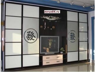 Шкаф-купе в гостиную  - Мебельная фабрика «Еврус»