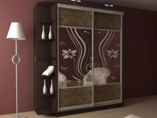 Шкаф - купе с пескоструйным рисунком - Мебельная фабрика «Абис»