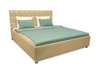 Кровать мягкая  с подъемным механизмом Виза 01 - Мебельная фабрика «Виза»