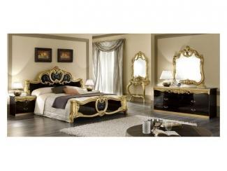 Изящная спальня Барокко Голд  - Импортёр мебели «Camelgroup (Италия)»