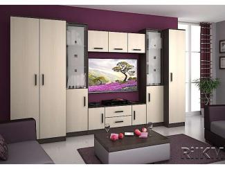 Гостиная стенка Вега 3  - Мебельная фабрика «РиИКМ», г. Пенза