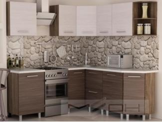 Матовая угловая кухня №3 - Мебельная фабрика «Меон», г. Волжск
