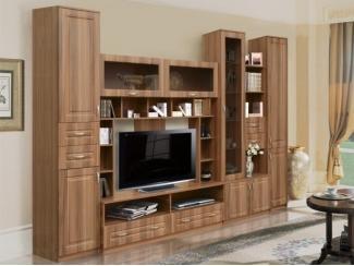Гостиная стенка Эвелина комплектация 2 - Мебельная фабрика «Аристократ»