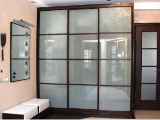 Шкаф с витражами Купе-7  - Мебельная фабрика «Алмаз-мебель»