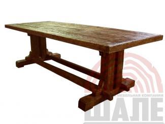Стол обеденный Медведь - Мебельная фабрика «ВМК-Шале»