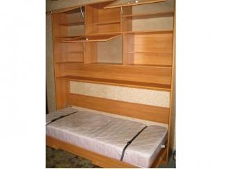 Шкаф-кровать с надстройкой под матрац  - Мебельная фабрика «МЕБЕЛов»