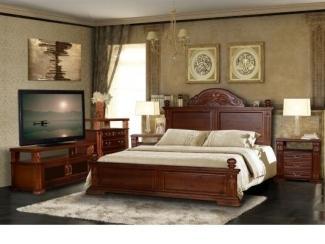 Спальня из натурального дерева Винцент  - Мебельная фабрика «Дубрава»