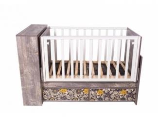 Детская кроватка КДМ АРИВА - Мебельная фабрика «Папа Карло»