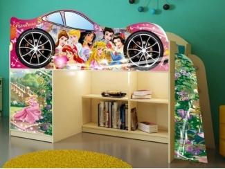 Детская кровать  Принцессы модель 1 - Мебельная фабрика «ПМК ВиП»