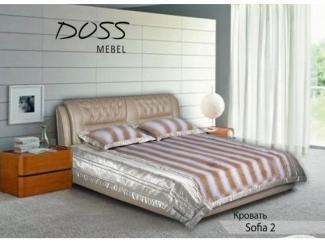 Кровать Sofia 2  - Мебельная фабрика «DOSS»