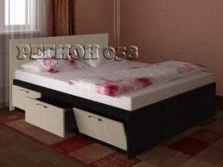 Кровать с ящиками(ЛДСП)