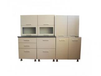 Кухня прямая Лаура полоса - Мебельная фабрика «Мебель эконом»
