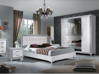 Спальный гарнитур Дана белый глянец - Мебельная фабрика «Август»